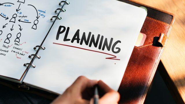 計画を立てる