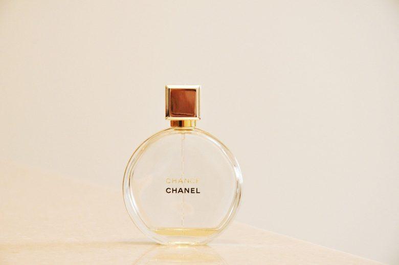 箱が無いシャネルの香水